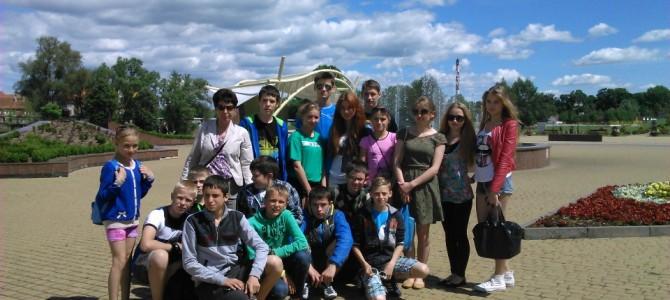 Ostatni wyjazd ełckich uczniów do Ozierska