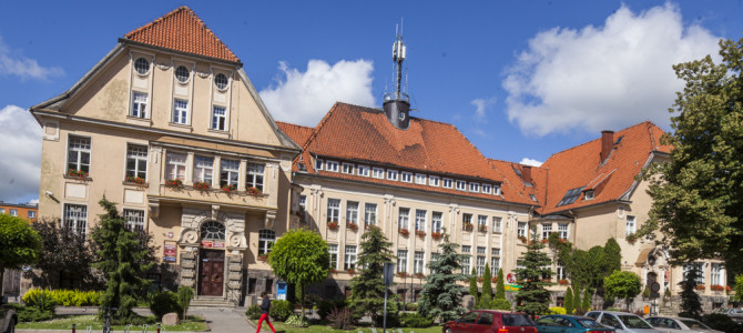 Building of the City Hall and District Office