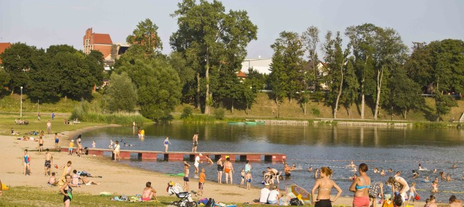 City Beach in Ełk