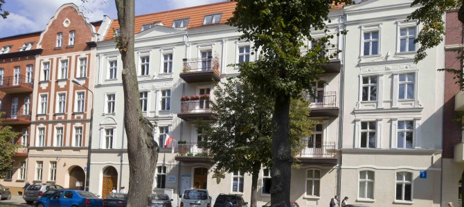 19th-century buildings in the city centre